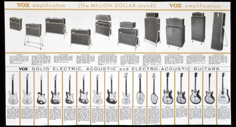 Thomas Organ Vox catalog