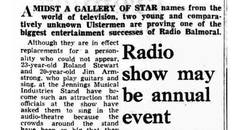 Belfast, Radio Balmoral exhibition, October 1964