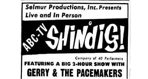 Shindig National Tour, April-May 1965