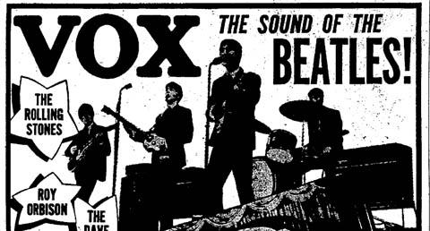 Vox notices, 1964