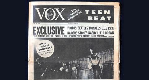 Vox Teen Beat magazine, volume II, no. 3
